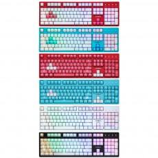 마이크로닉스 MANIC X48 4세대 광축 완전방수 게이밍 크리스탈키캡 기계식 키보드