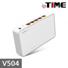 [EFM네트웍스] IPTIME V504 4포트 유선공유기
