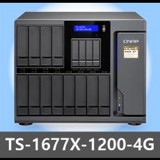 [QNAP] TS-1677X-1200-4G 16Bay 타워형 NAS
